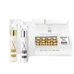 X115+PLUS NEW GENERATION SKIN CARE INTEGRATORE ALIMENTARE ANTIOSSIDANTE ANTIAGING + CREMA DONNA ANTIRUGHE 15 ML