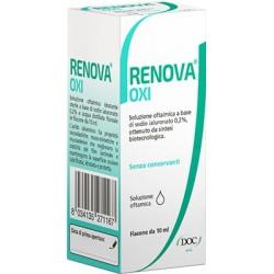 RENOVA OXI COLLIRIO SOLUZIONE OFTALMICA A BASE DI ACIDO IALURONICO 0,2% FLACONE DA 10 ML