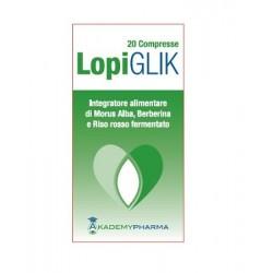 LOPIGLIK TUBO 20 COMPRESSE 1,15 G