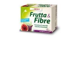 FRUTTA E FIBRE 12 CUBETTI 120 G