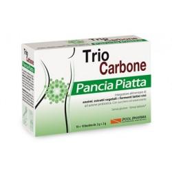 TRIOCARBONE PANCIA PIATTA 10 + 10 BUSTINE